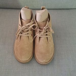 Lands End suede boots